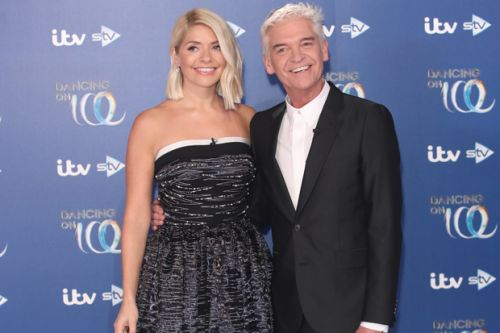 Holly Willoughby fights back tears at Dancing on Ice launch