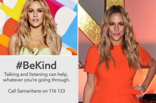 Love Island runs BeKind adverts ahead of Iain Stirling's heartbreaking tribute to Caroline Flack