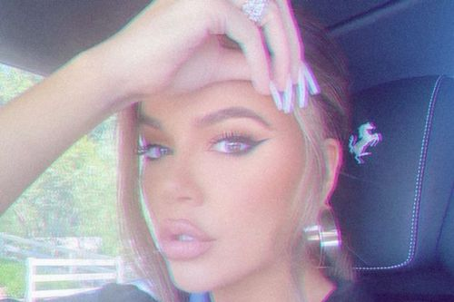 Khloe Kardashian sparks fresh surgery speculation as she shows off plumped pout