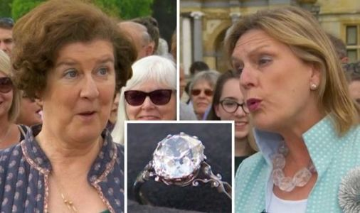 Antiques Roadshow: 'Need to sit down' Guest overwhelmed by huge valuation of diamond ring