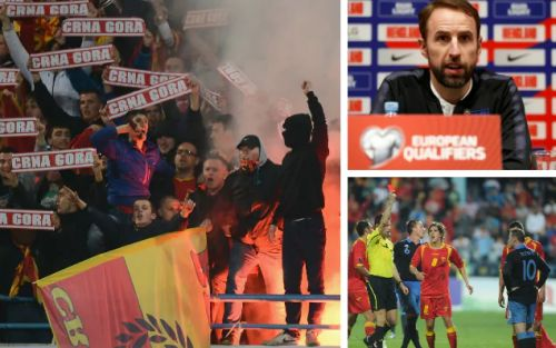 Gareth Southgate warns England youngsters to keep their heads amid 'hellish' atmosphere in Montenegro
