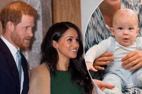 Meghan Markle and Prince Harry reveal colour of son Archie's hair as they attend WellChild Awards