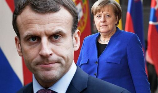 Macron's dream of United States of EU set to be crushed as Merkel 'reluctant' to pay