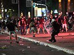 Serbia's president blames protesters for spreading virus as activists face off with mounted police