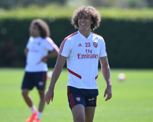 Benfica president reveals David Luiz will sign two-year Arsenal contract extension despite talks over return to Portugal
