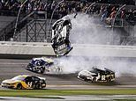 Driver Ryan Newman is rushed to hospital after horrifying Daytona 500 last-lap crash