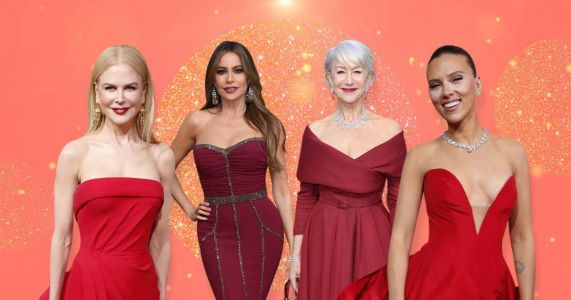 Red was the colour heating up the Golden Globes - and it's about to heat up 2020