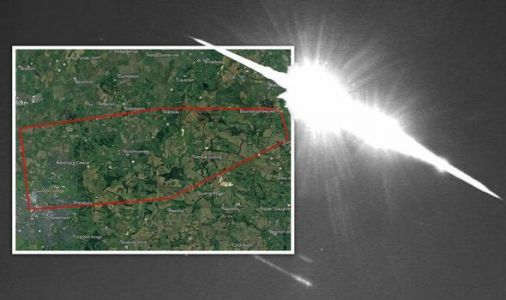 Meteor over UK mapped: Where did the meteorite fragments land? 'Do not touch!'