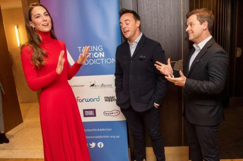 Declan Donnelly makes awkward gaffe in front of Kate Middleton