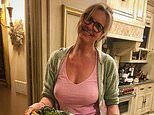 Penny Lancaster, 49, reveals she has to get husband Rod Stewart, 75, DRUNK to eat her cooking