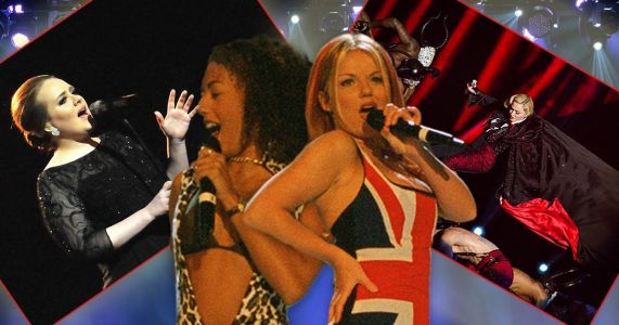 From Spice Girls and Amy Winehouse to Madonna's fall - the best Brit Awards performances ever