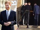 Polite Prince! The Duke of Sussex shows off his manners on last public appearance as a senior royal