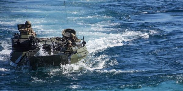 US military finds amphibious assault vehicle that sank off the coast of California, as well as troops' remains