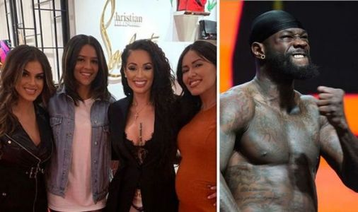 Deontay Wilder fiancee Telli Swift hails 'a few boxing wags' ahead of Tyson Fury rematch