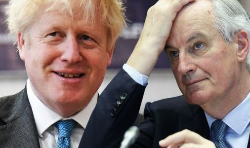 Barnier on brink: Rattled EU chief under pressure from member states - Boris 'in control'
