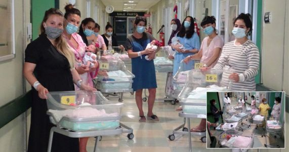 Record 15 babies born in 24 hours at hospital that was once Italy's coronavirus epicentre