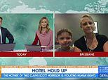 Allison Langdon clashes with mother quarantined in luxury hotel after she complained about fresh air