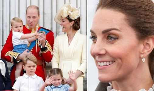 Kate reveals how she boosts George, Charlotte and Louis's wellbeing - 'Come rain or shine'
