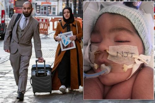 Doctors told they can withdraw life support from brain dead baby