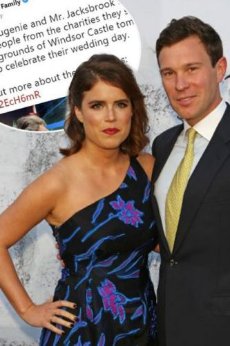 Royal Family Twitter account makes hilarious blunder as it spells Princess Eugenie's groom-to-be Jack Brooksbank's NAME wrong the day before their wedding
