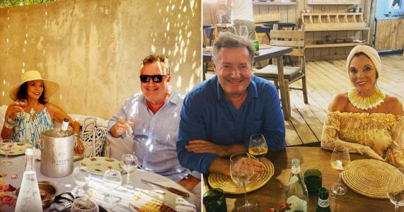 Piers Morgan proves he's officially BFFs with Dame Joan Collins as pair go for fifth dinner in St Tropez