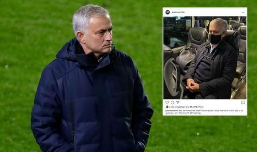 'Upset' Jose Mourinho warns Tottenham stars in hilarious Instagram post after Antwerp loss