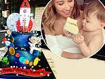 Myleene Klass shares an inside look at son Apollo's first birthday celebrations