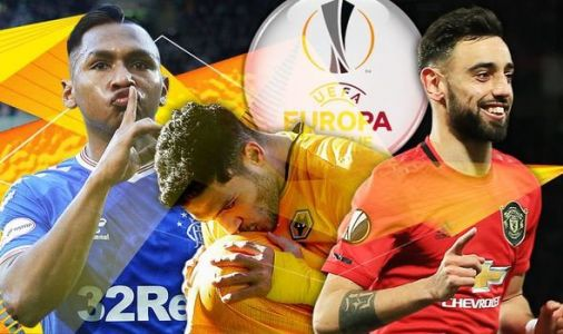 Europa League draw LIVE: Man Utd, Rangers and Wolves to learn fate last 16 opponents