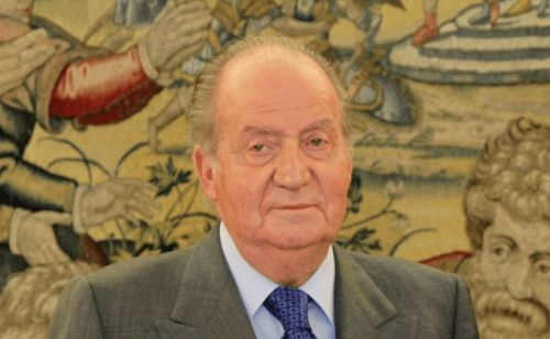 Could The Queen rescind King Juan Carlos's membership of the Order of the Garter?