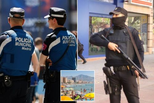 Spain terror fears as 40,000 police sent to sites including Ibiza and Majorca