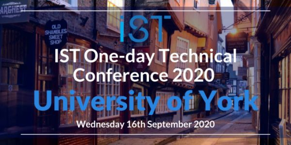 Announcement: The IST 2020 Conference with University of York