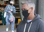 Gary Lineker makes sure to wear a mask whilst food shopping after apologising for not wearing one