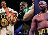 Tyson Fury's next fight: Wilder trilogy, Anthony Joshua or mandatory Dillian Whyte?