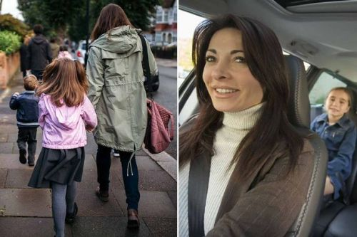 Half of parents perfectly able to walk their kids to school - but use car instead