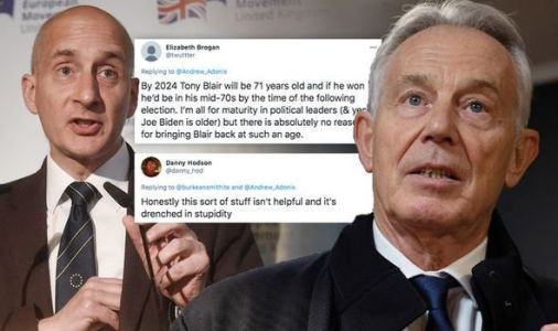 'Bring back Tony Blair!' Arch-Rejoiner Adonis calls for ex-Labour chief 2024 election run