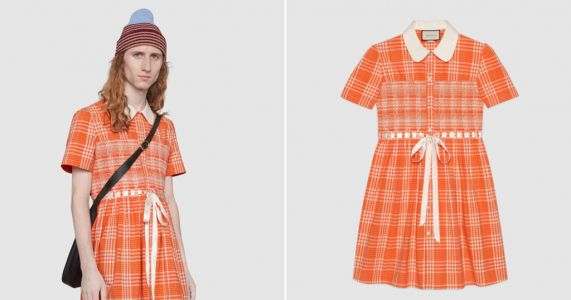 Gucci releases tartan dress for men to 'disrupt toxic stereotypes' of gender