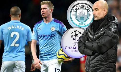 Pep Guardiola concedes Champions League fear as Man City trail Liverpool in title race