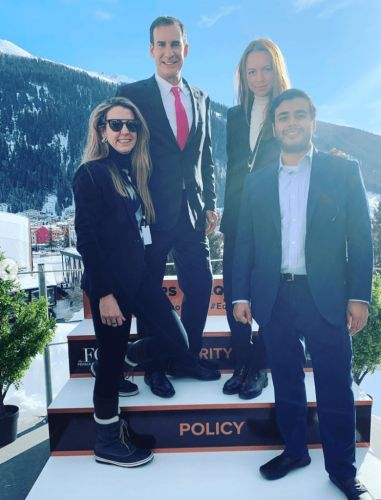 Tessy Antony - de Nassau writes about her experience at the World Economic Forum for Royal Central