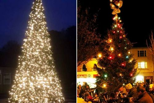 Anger at town's plan to swap fir Christmas tree with £7,500 Chinese plastic one