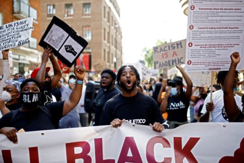 The Tories Are on a Mission to Destroy Black Lives Matter