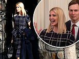 Ivanka wears $3,700 Oscar de la Renta ensemble to watch President Trump sign a trade deal with China
