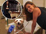 Eva Mendes shares photos of her husband Ryan Gosling's late dog George