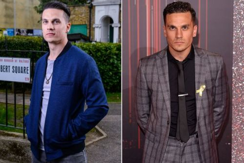 EastEnders' Aaron Sidwell issues warning after he's threatened at knifepoint