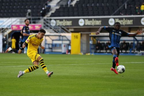 Sancho reflects on hat-trick and explains 'Justice for George Floyd' stance