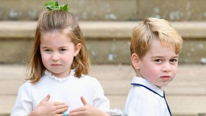 How Prince George and Princess Charlotte are keeping the Queen entertained during lockdown