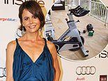 Antonia Kidman shows off her impressive home gym as she self-isolates amid coronavirus pandemic
