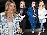 Nicky Hilton cuts a glamorous figure as she celebrates mother Kathy's birthday with famous friends