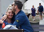 PICTURED: Ant McPartlin's ex Lisa Armstrong enjoys park date with new man as she finds love again
