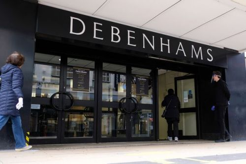 Debenhams liquidation fears as struggling chain draws up 'contingency plans'