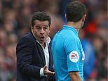 Marco Silva baffled by 'strange' goal after Pierre-Emerick Aubameyang scores from offside position
